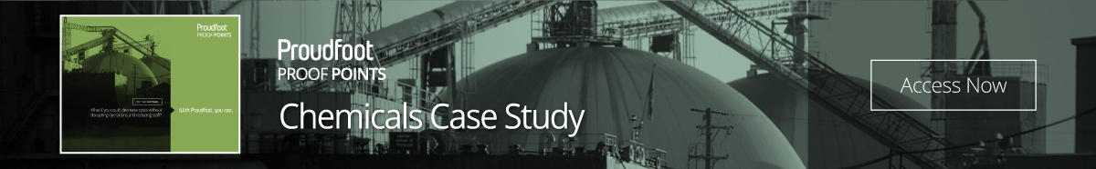 Proudfoot Proof Point - Chemicals Case Study