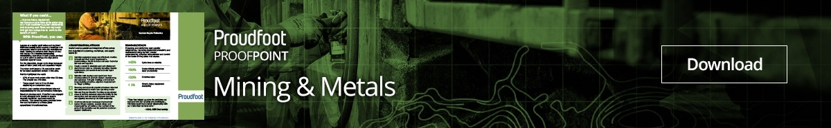 Mining and Metals Proof Point Customer Supplier Partnership