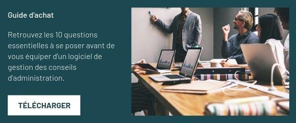 logiciel de gestion conseil d'administration