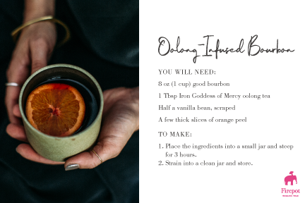 Oolong-Infused Recipe Card
