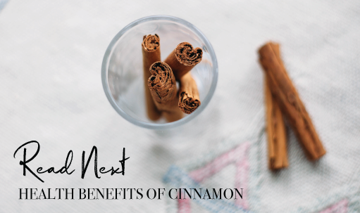 Read Next: Health Benefits of Cinnamon