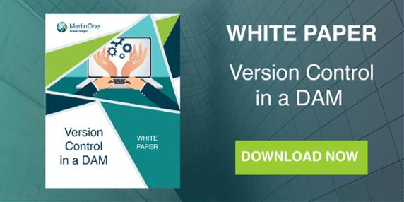 MerlinOne CTA Version Control in a DAM White Paper Download