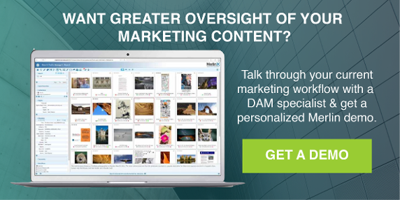 MerlinOne CTA Greater Oversight of your Marketing Content Get a Demo