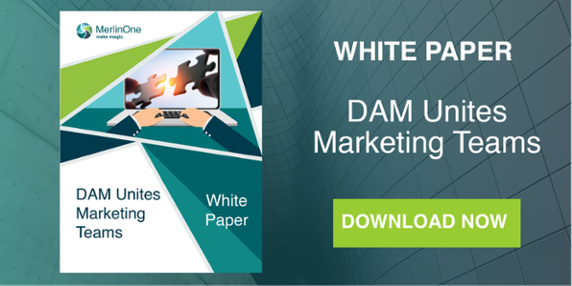 MerlinOne DAM Unites Marketing Teams White Paper Download