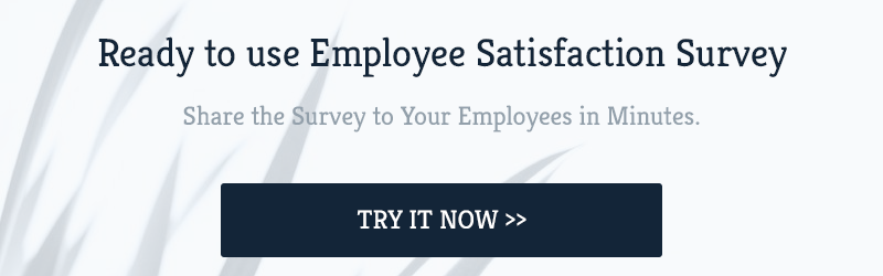 Ready to use Employee Satisfaction Survey