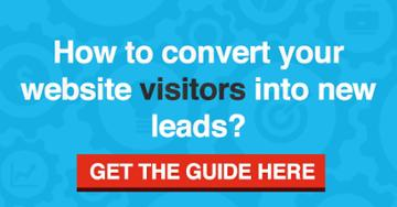How to convert your website visitors into new leads?