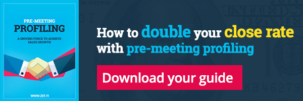 How to double your close rate with pre-meeting profiling