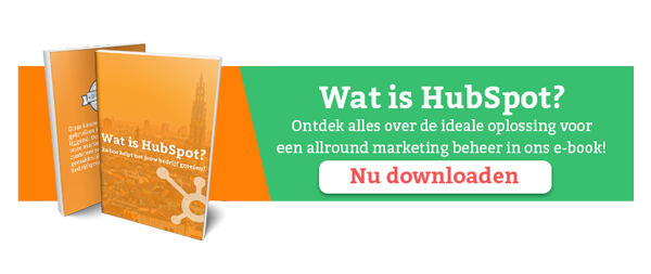 HubSpot e-book downloaden