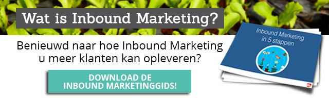 Inbound Marketing in 5 stappen