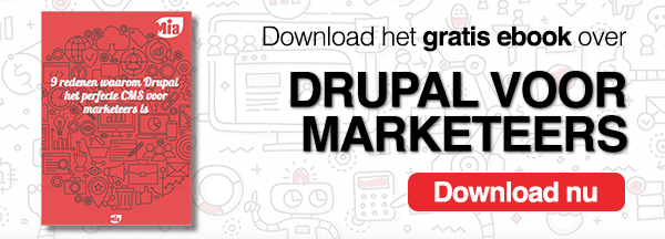 Download ons gratis ebook over Drupal voor Marketeers