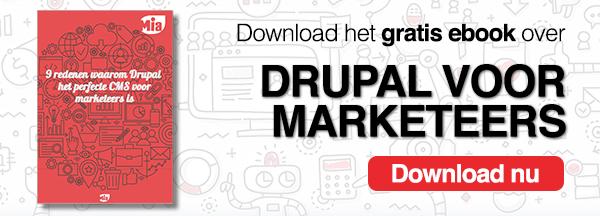 Download ons gratis ebook over Drupal voor Marketeers