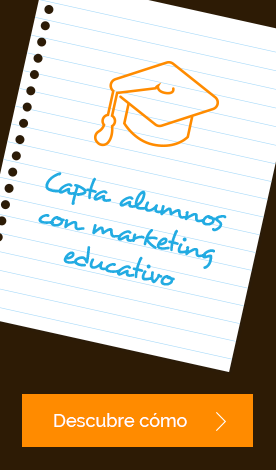 Capta alumnos con marketing educativo