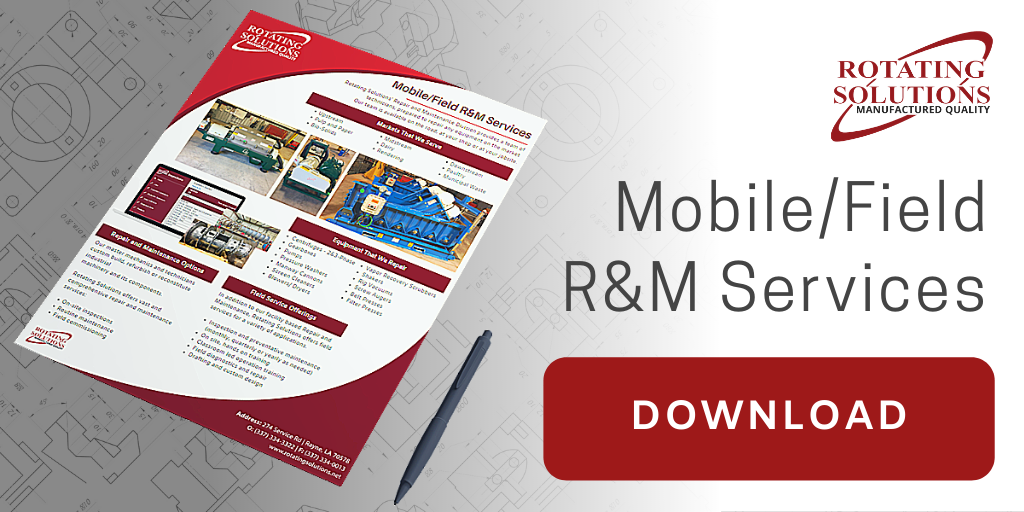 Mobile/Field R&M Services | Rotating Solutions