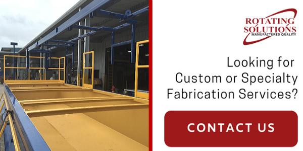 Fabrication Contact Us | Rotating Solutions