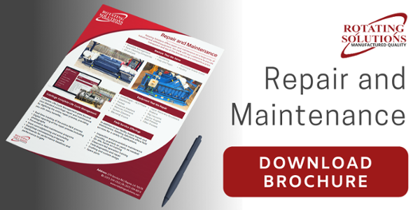 Repair and Maintenance Brochure | Rotating Solutions