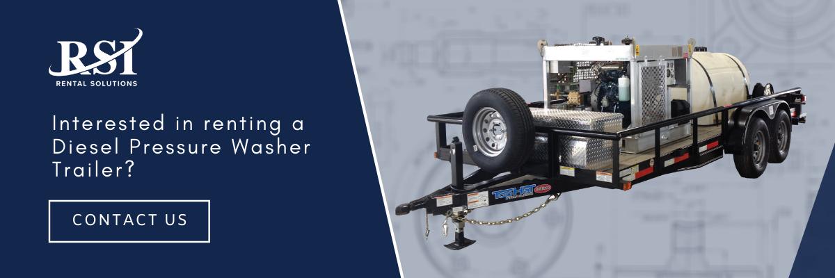 Diesel Pressure Washer - RSI - Rental