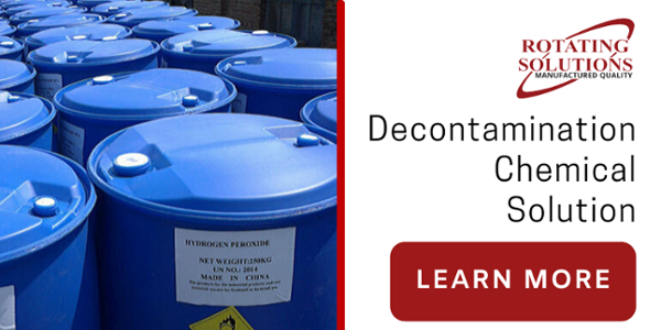 Decontamination Chemical | Rotating Solutions