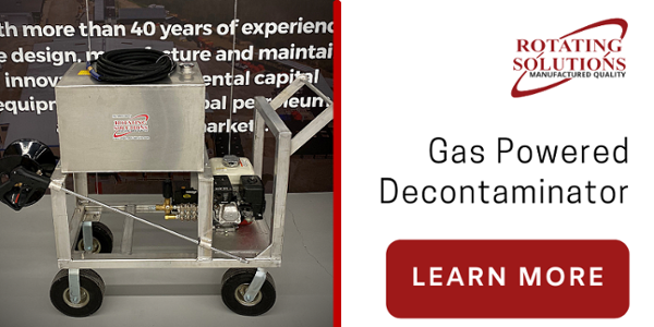 Gas Powered Decontamination Unit | Rotating Solutions