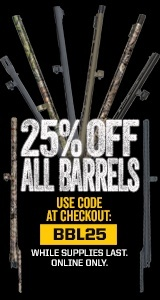 25% OFF All Barrels