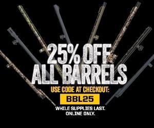 25% OFF All Barrels