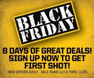 Black Friday Sign Up