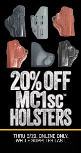 20% OFF MC1sc Holsters