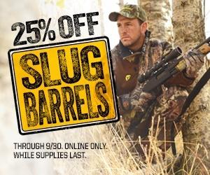 Slug Barrel Sale