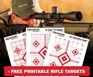 Printable Rifle Target