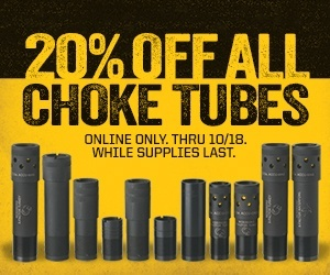 Choke Tube Sale