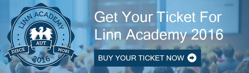 Get Your Linn Academy 2016 Ticket
