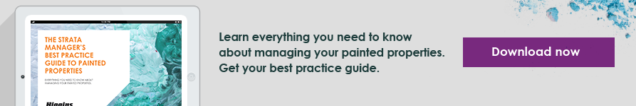 The Strata Manager's Best Practice Guide to Painted Properties