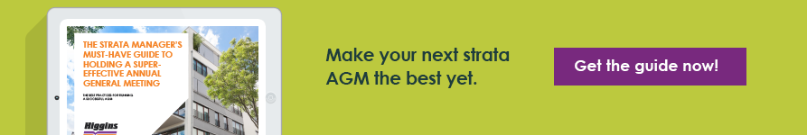 Run the best strata AGM ever!