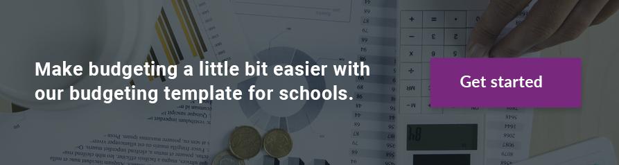 School Budgeting Template