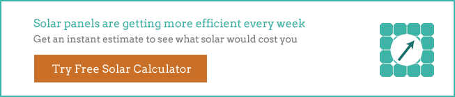 solar panel efficiency graphic