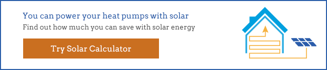 solar with air source heat pumps