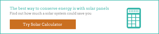 conserve energy with solar graphic