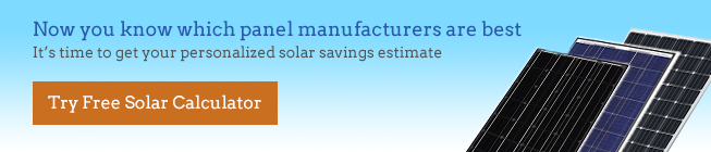 best solar manufacturers