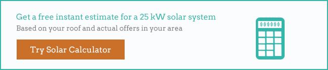 25kW solar system