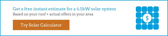 4500 watt solar system estimate
