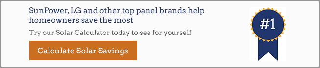 top solar panel brands graphic