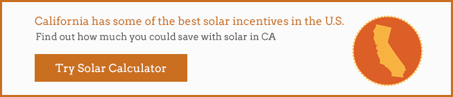 california solar incentives