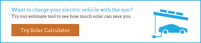solar panels and electric cars