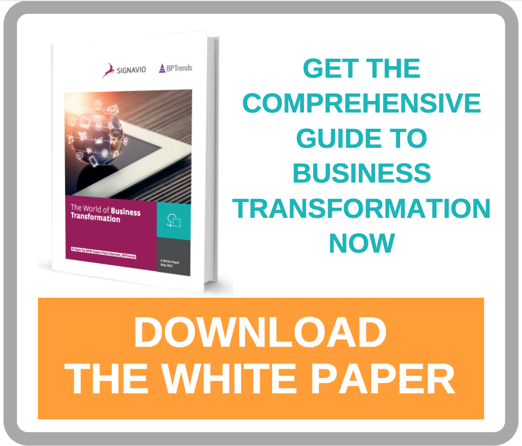 An Introductory guide to Digital, Cognitive Business transformation from BPM Expert Paul Harmon