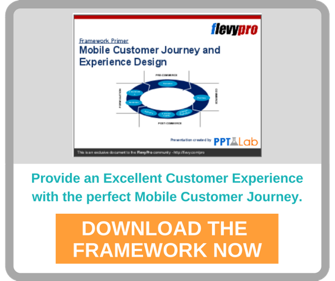Design the optimal Mobile Journey and Experience for your customers.