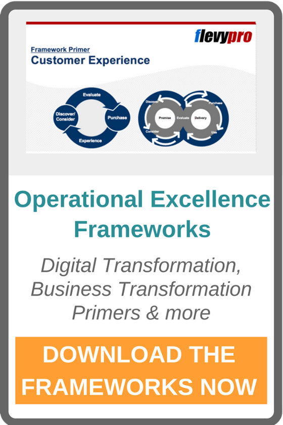 Operational Excellence Frameworks and Learning Resources, Customer Experience, Digital Transformation and more introductions