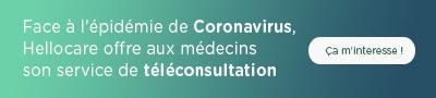 téléconsultations et coronavirus