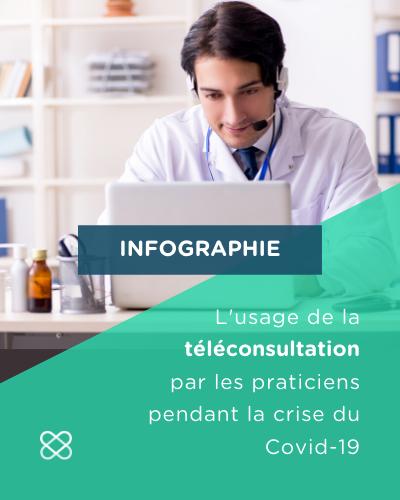 téléconsultation covid19 infographie
