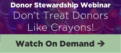 Donor Stewardship Webinar