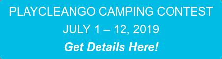 PLAYCLEANGO AWARENESS WEEK JUNE 1-8, 2019 Get Resources Here!