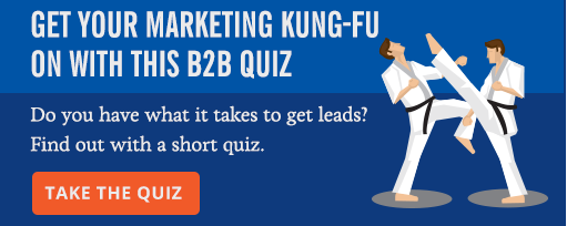 Get Your Marketing Kung-Fu On with this B2B Quiz